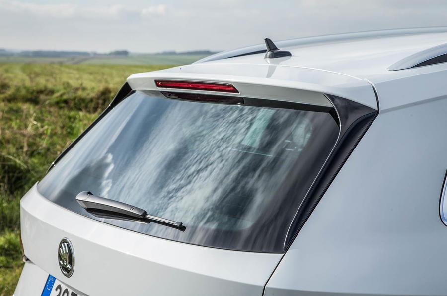 Skoda Kodiaq rear window