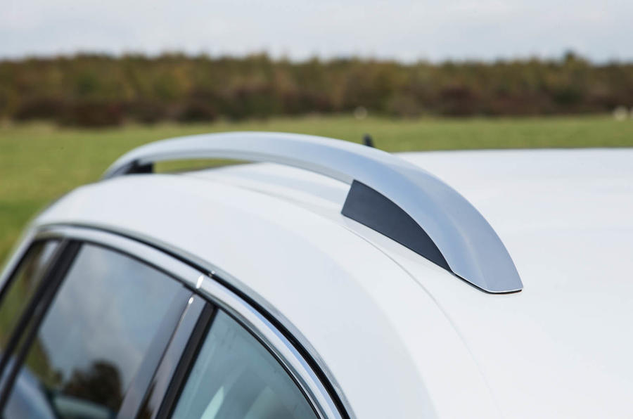 Skoda Kodiaq anodised roof rails
