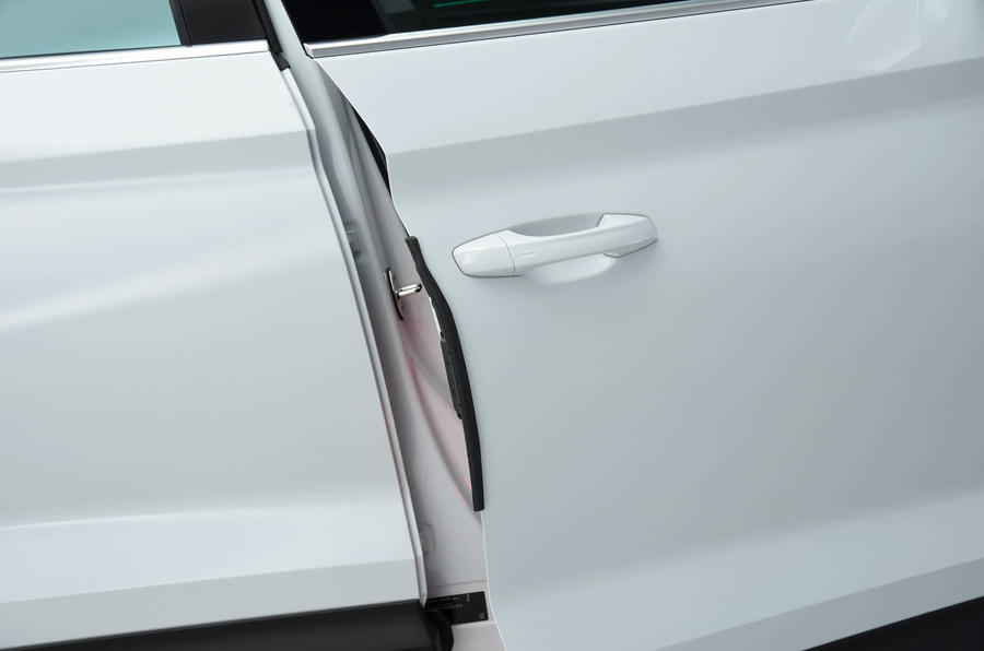 Skoda Kodiaq soft-close doors