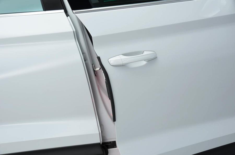 Skoda Kodiaq soft-close doors