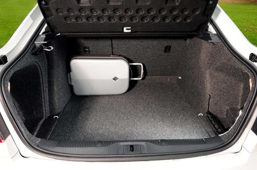 Skoda Octavia boot space