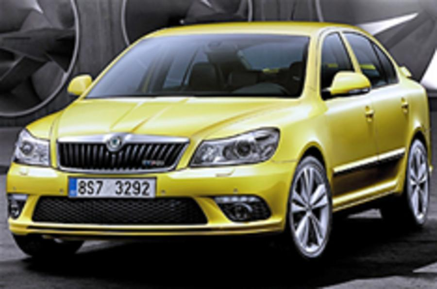 Octavia vRS and Scout facelifted