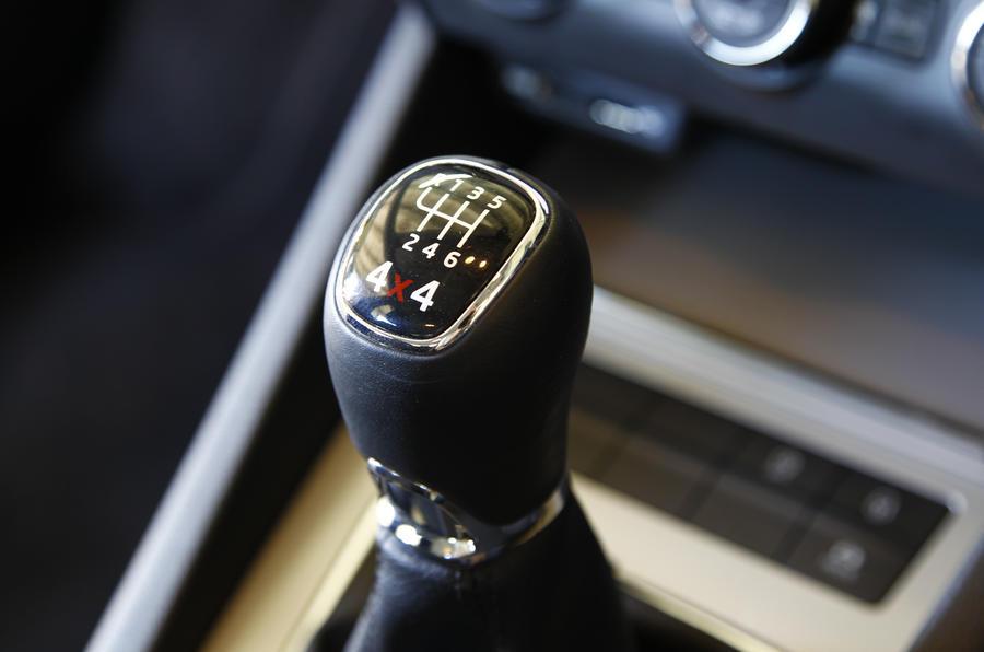 Skoda Octavia Estate 4x4 manual gearbox