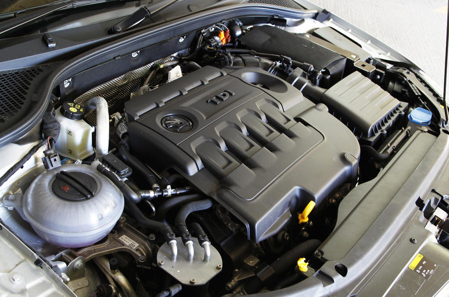 2.0-litre Skoda Octavia Estate diesel engine