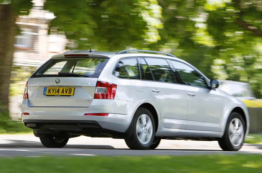 Skoda Octavia Estate 4x4 rear