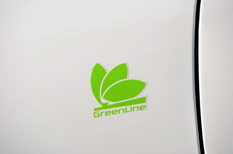 Skoda Octavia Greenline decals