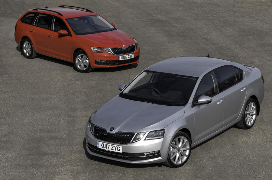 Skoda Octavia hatch and estate
