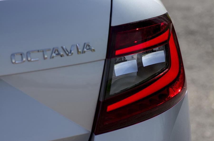 Skoda Octavia LED rear lights