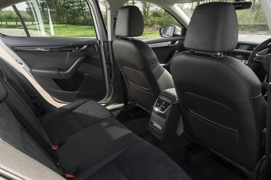 Skoda Octavia rear seats