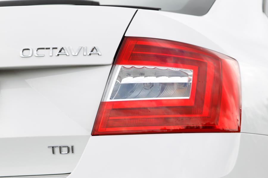Skoda Octavia rear light