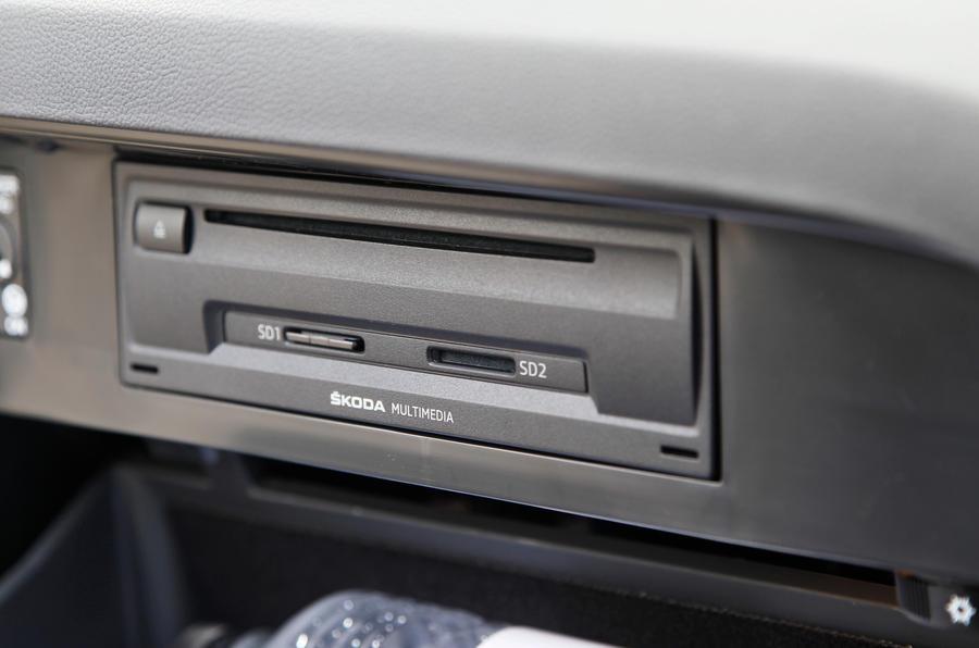 Skoda Octavia multimedia system