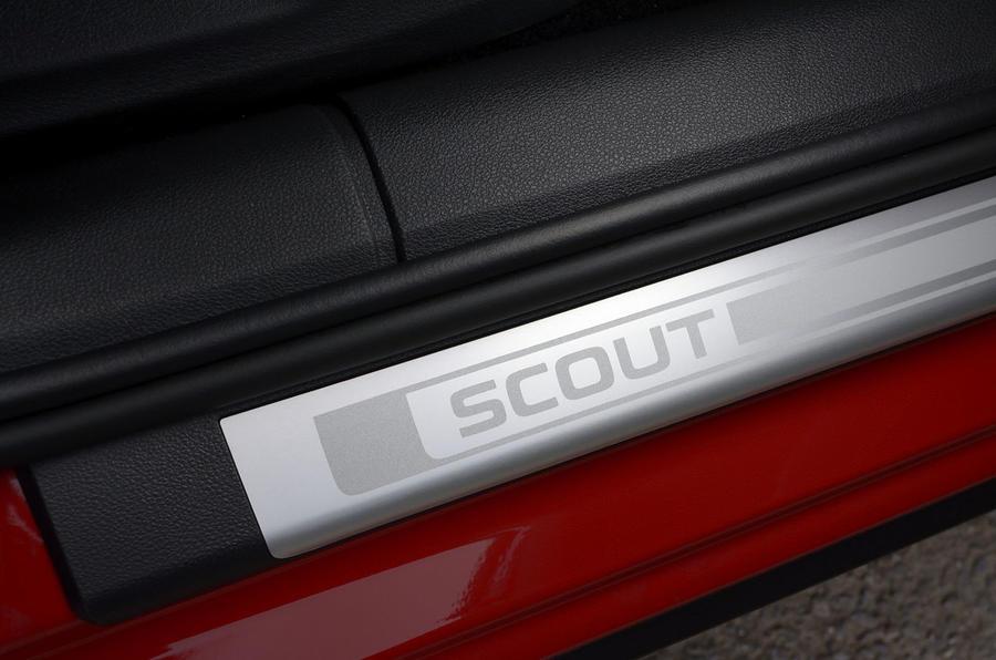 Skoda Octavia Scout kickplates