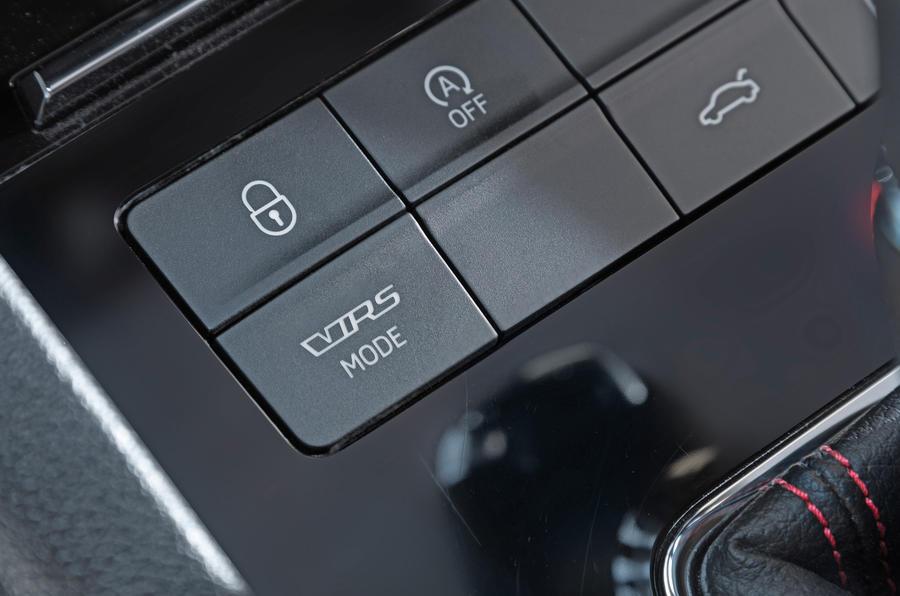Skoda Octavia vRS driving modes