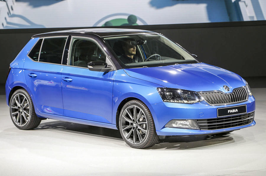 new skoda fabia revealed. Black Bedroom Furniture Sets. Home Design Ideas