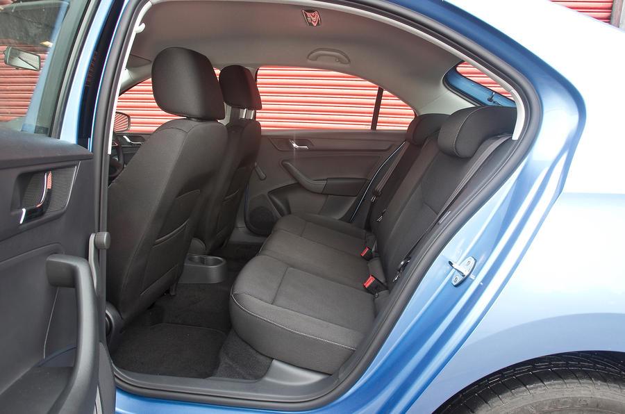 Skoda Rapid rear seats