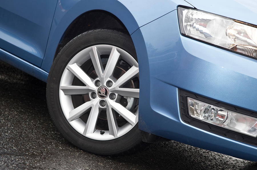 16in Skoda Rapid alloy wheels