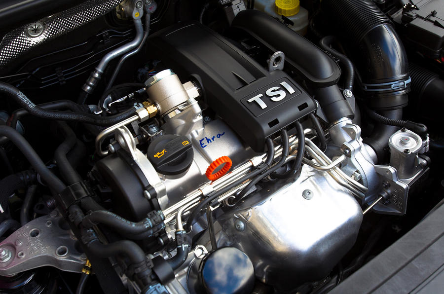 1.2 TSI Skoda Rapid engine