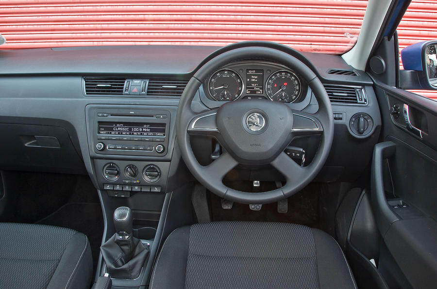 Skoda Rapid dashboard