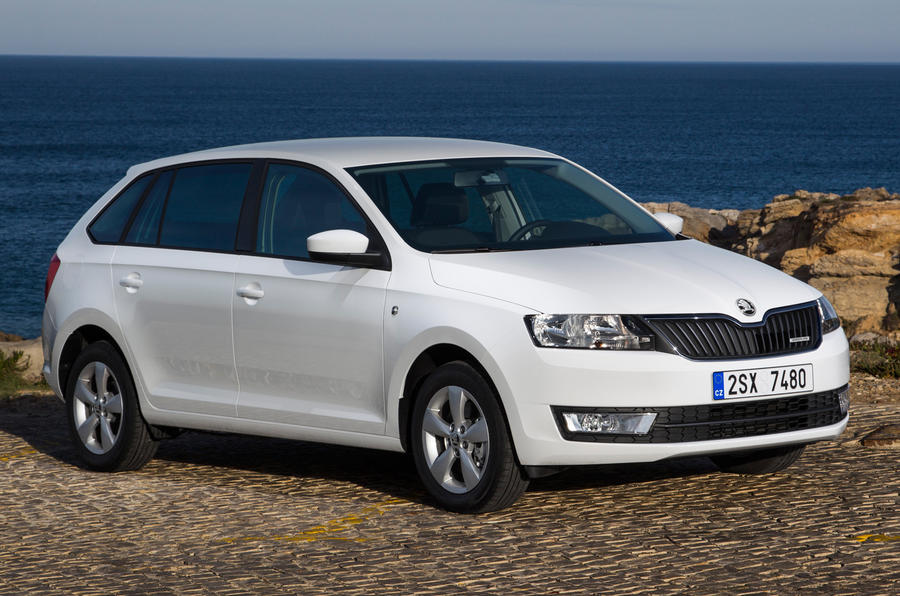 £17,195 Skoda Rapid Spaceback GreenLine
