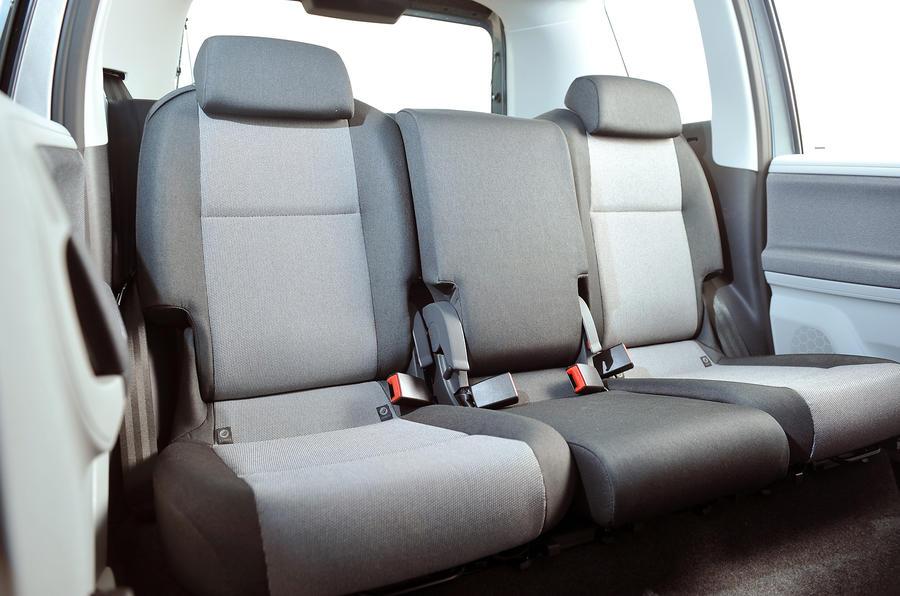 Skoda Roomster rear seats