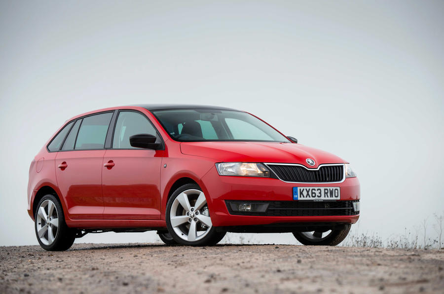 3.5 star Skoda Rapid Spaceback