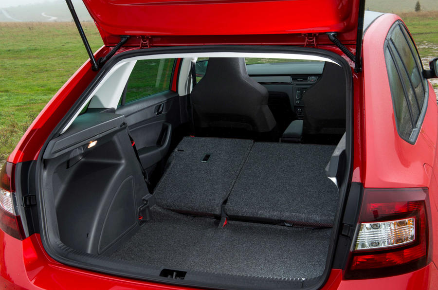Skoda Rapid Spaceback seat flexibility