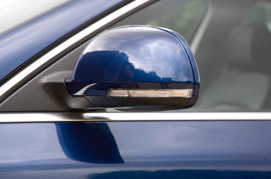 Skoda Superb wing mirror