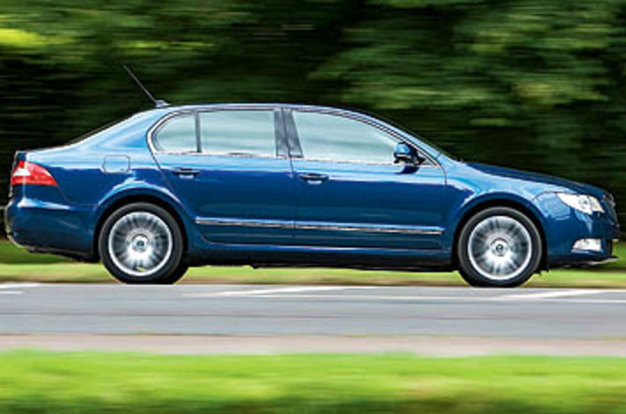 Skoda Superb gets new engine