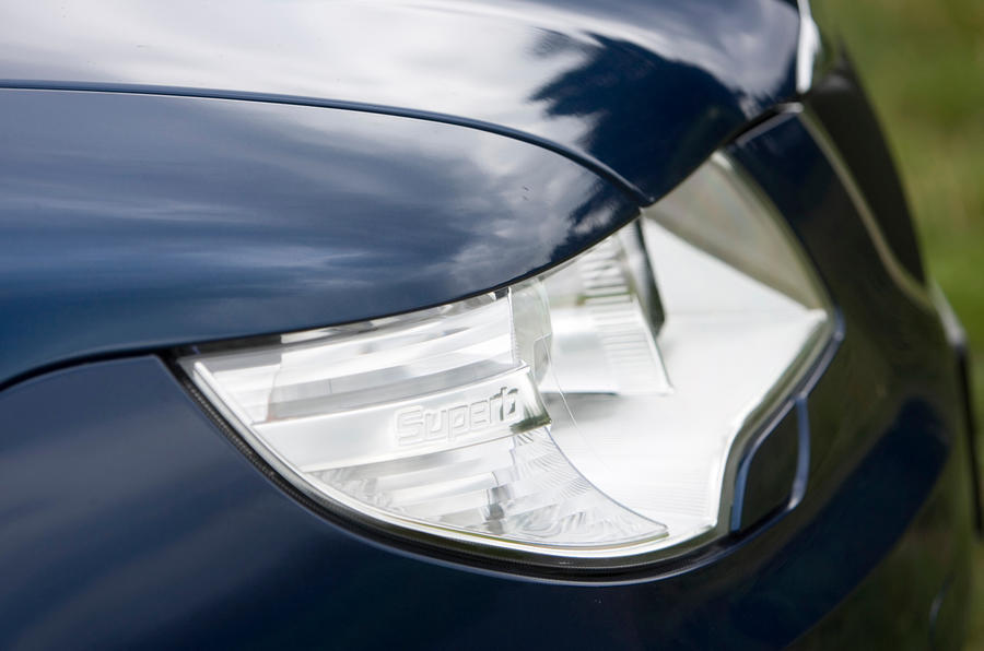 Skoda Superb headlight
