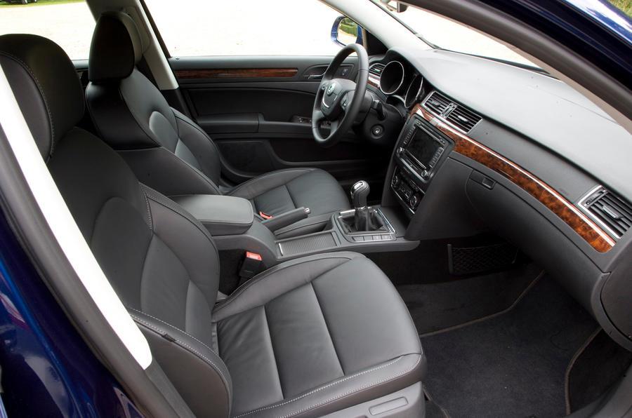 Skoda Superb interior