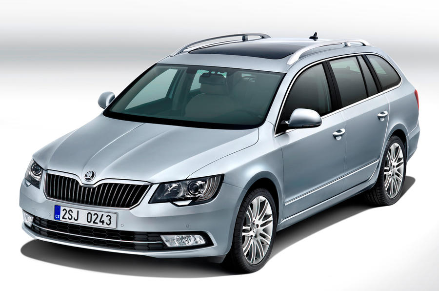 New look for Skoda Superb
