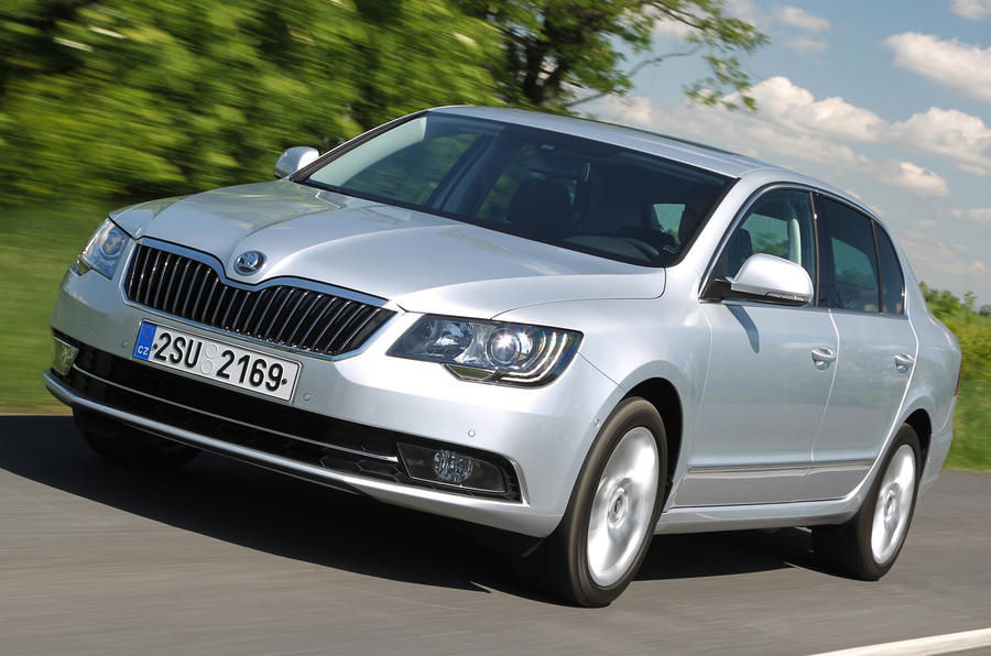 Skoda Superb 1.6 TDI CR Greenline II SE first drive review