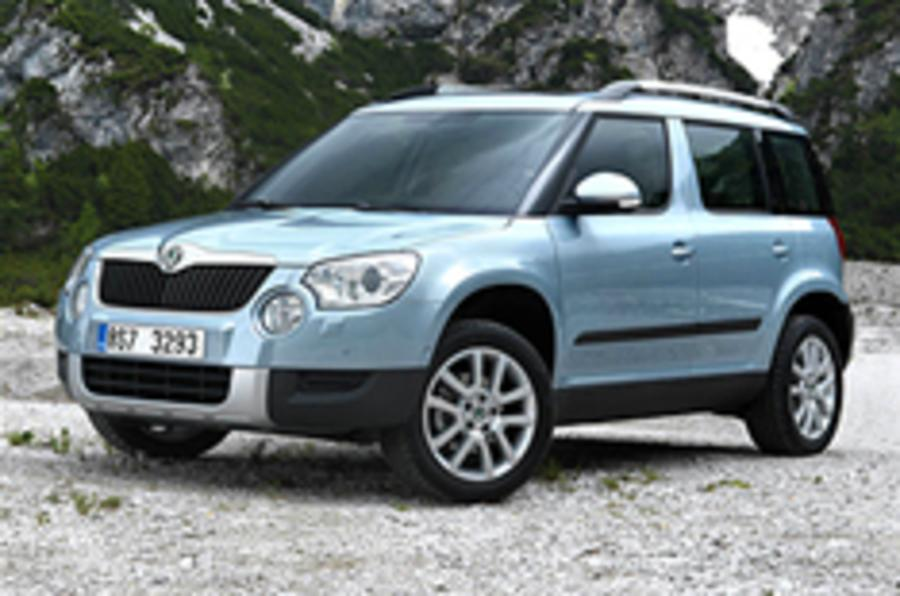 Skoda Yeti prices and specs