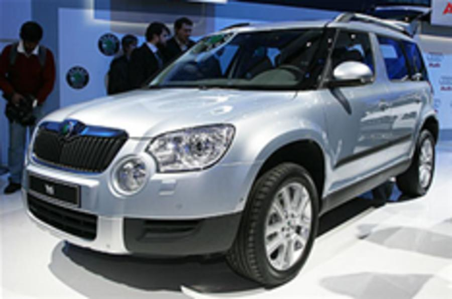 Skoda Yeti lands in Geneva