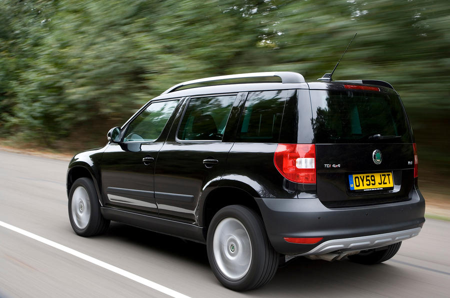 skoda yeti review 2016 autocar. Black Bedroom Furniture Sets. Home Design Ideas