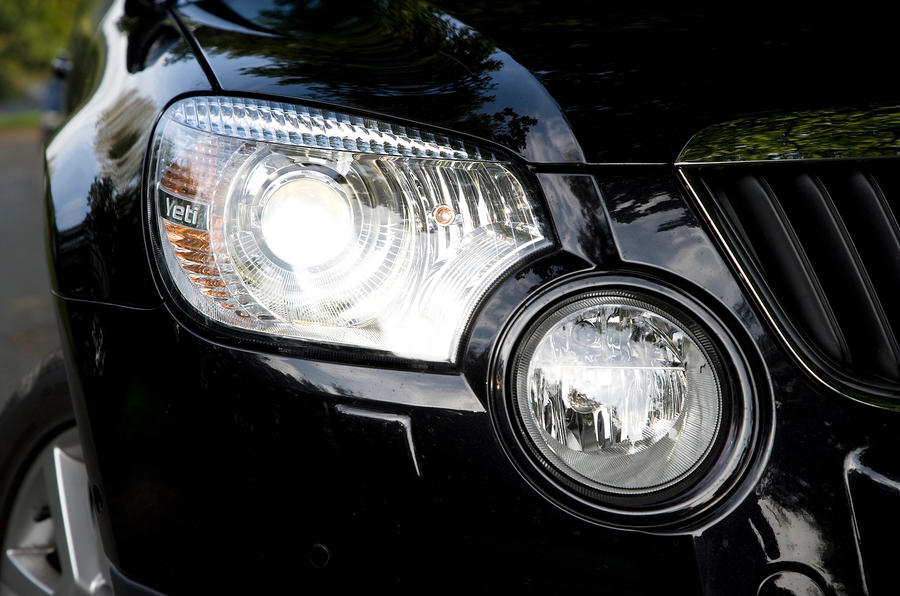 Skoda Yeti bi-xenon headlight