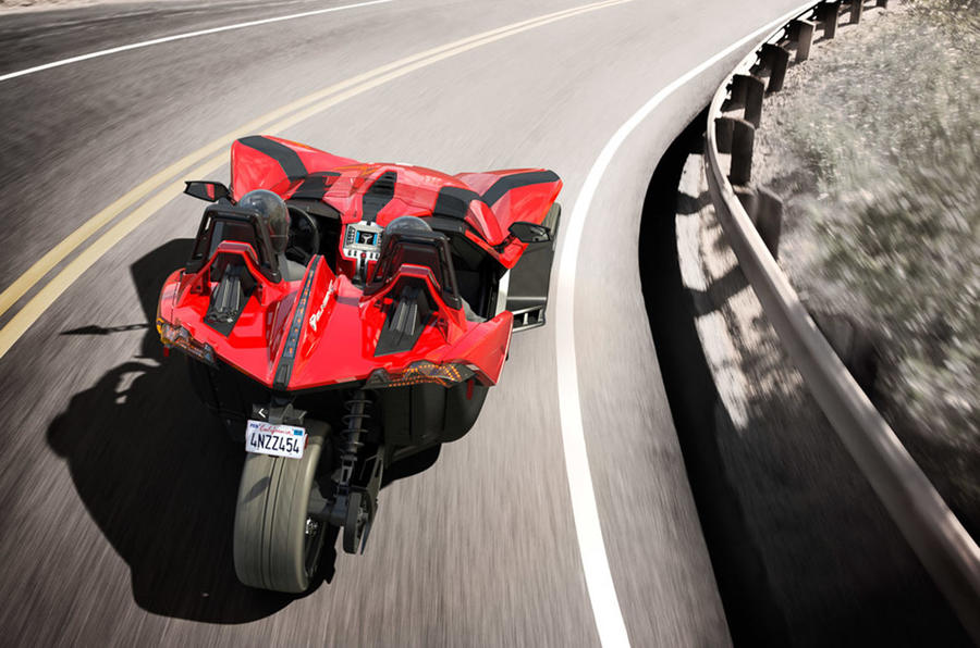 Polaris Slingshot tricycle revealed with 171bhp