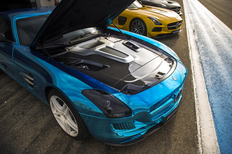 Mercedes-AMG Electric Drive engine