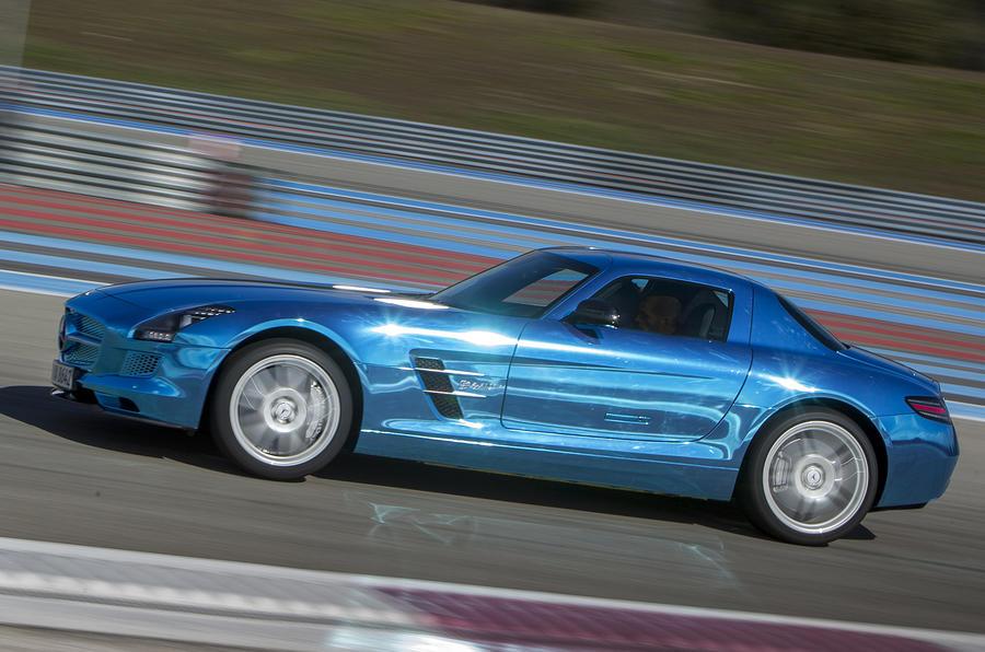 4 star Mercedes-AMG SLS Electric Drive
