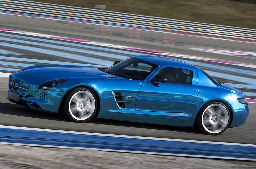 Mercedes-AMG SLS Electric Drive side profile