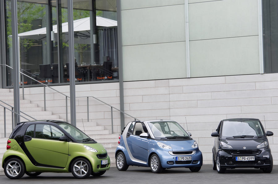 Paris motor show: Smart For-two