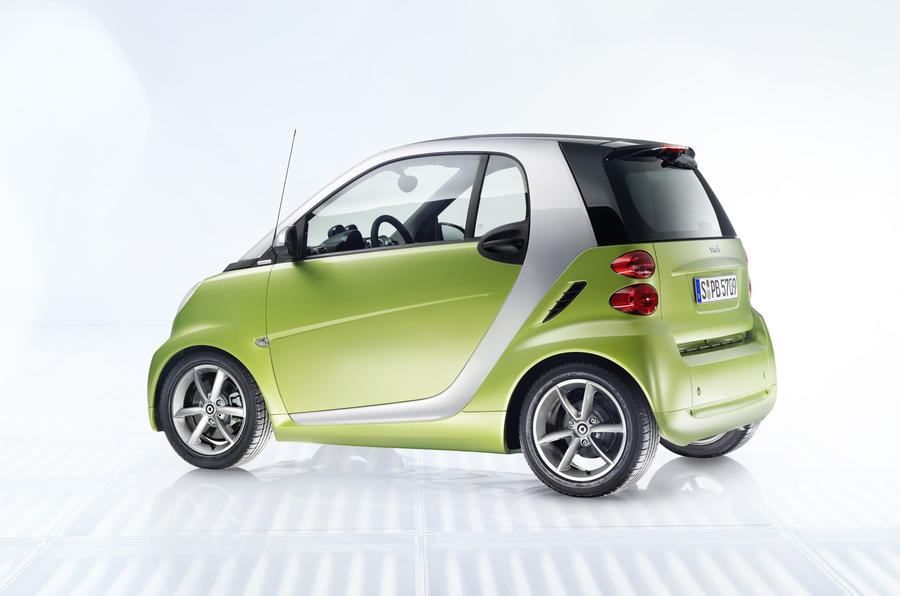 Paris motor show: Smart For-two