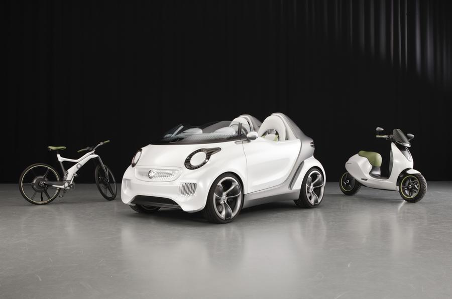 Geneva show: Smart Forspeed concept