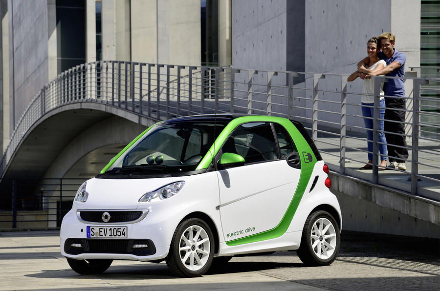New York motor show: Smart ForTwo Electric Drive