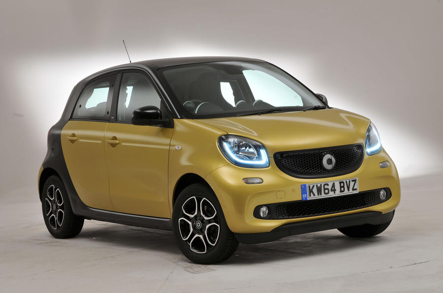 3 star Smart Forfour
