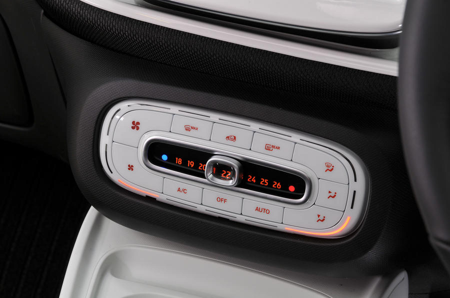 Smart Forfour climate controls