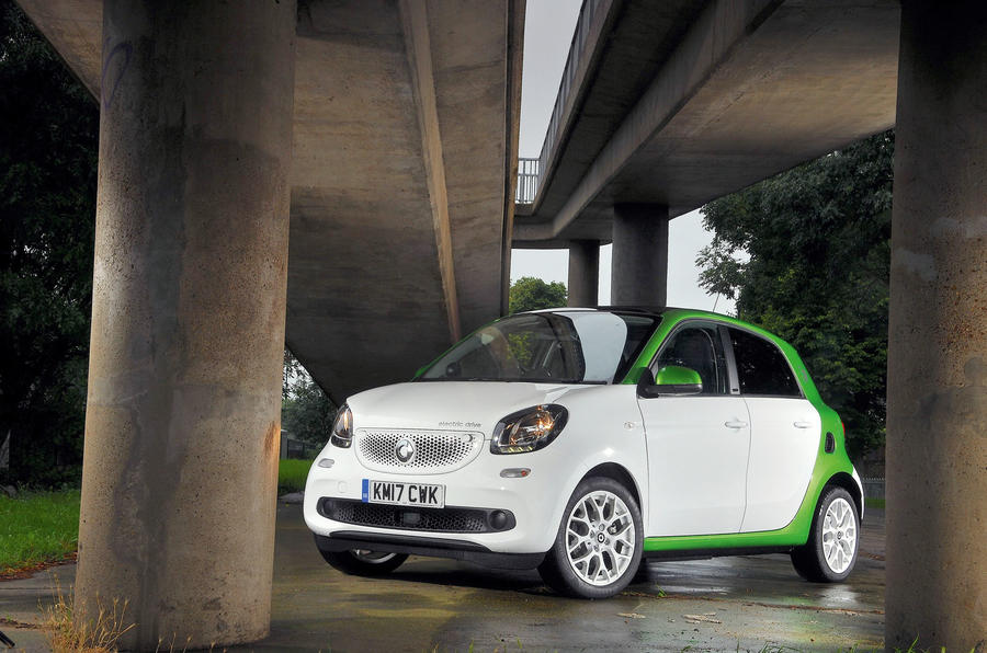 2.5 star Smart Forfour Electric Drive