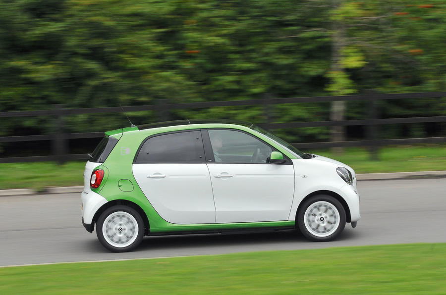 Smart Forfour Electric Drive side profile