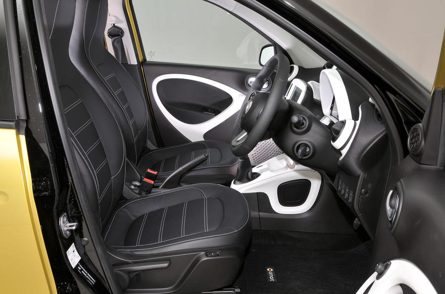 Smart Forfour interior