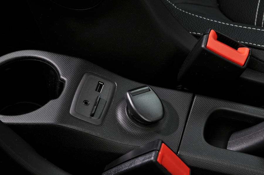 Smart Forfour multimedia ports